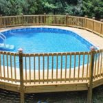 Above Ground Pool Decks Come in Many Forms