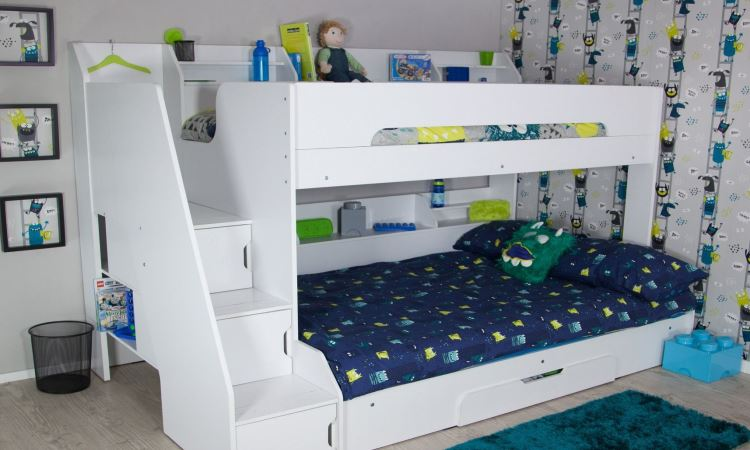 Cheap Bunk Beds with Stairs Offered