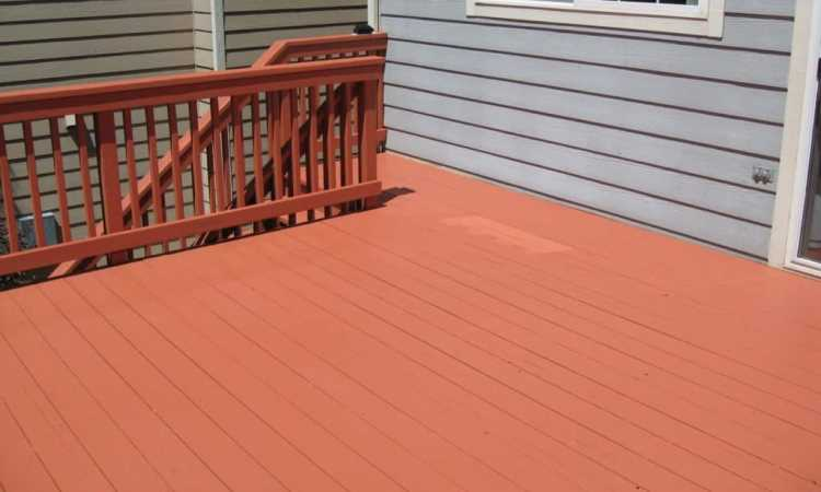 Deck Paint and Why 1