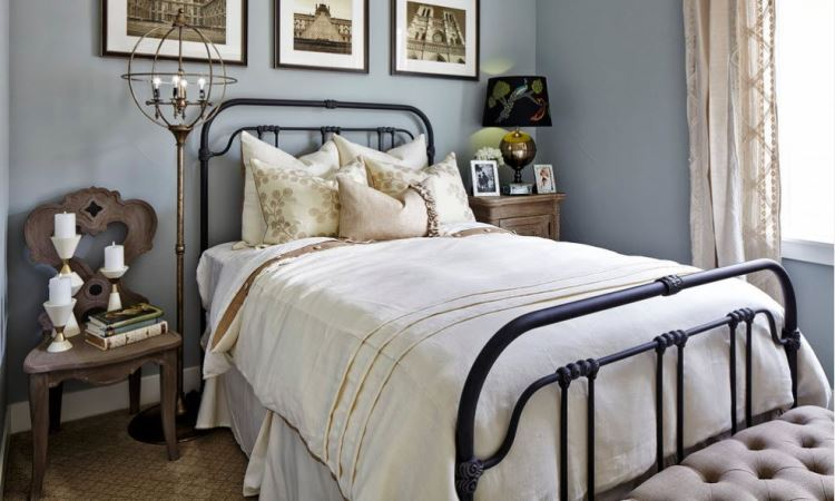 Iron Beds Will Help to Transform Your Bedroom